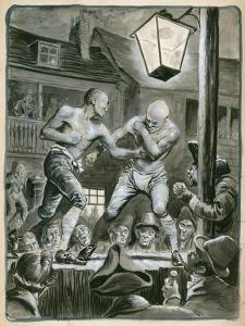 Street Bare Knuckle Fight by Peter Jackson