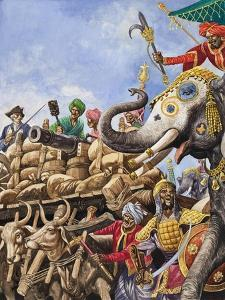 The Battle of Plassey of 1757 by Peter Jackson