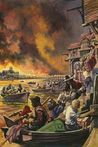 The Great Fire of London 1666 by Peter Jackson