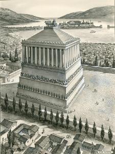 The Mausoleum at Halicarnassus by Peter Jackson
