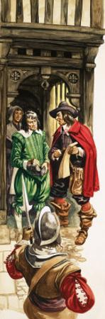 The Wonderful Story of Britain: King Charles the First. Tax Collectors