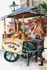 Victorian Ice-Cream Seller by Peter Jackson