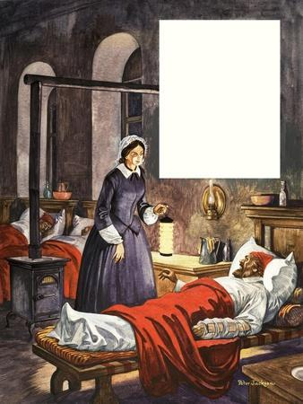 When They Were Young: Florence Nightingale