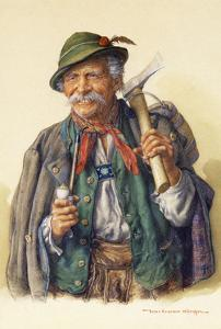 Woodcutters, Mountaineers and Hunters by Peter Kraemer