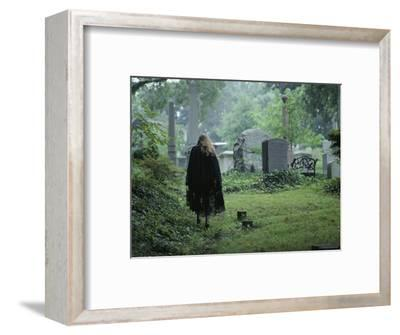 Woman in a Graveyard, Georgetown, Washington, D.C.