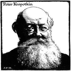 Peter Kropotkin, Russian Anarchist, C1920