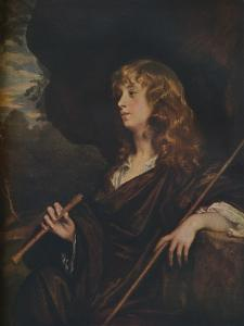 'Abraham Cowley', c1658 by Peter Lely