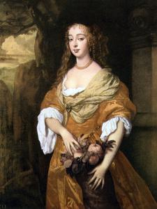Jane Needham, Mrs Myddleton, 1666 by Peter Lely