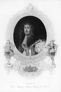 King Charles II, the Merry Monarch by Peter Lely