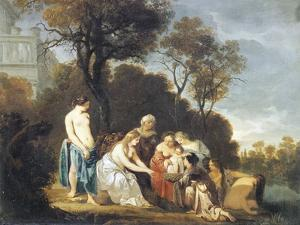 Moses Saved from River by Peter Lely