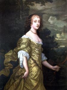 Portrait of Frances, Duchess of Richmond, C1662-1665 by Peter Lely