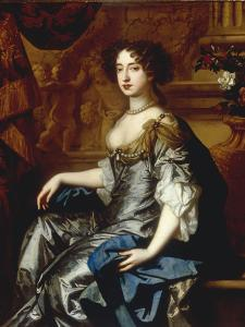 Portrait of Mary II (1662-94), when Princess of Orange by Peter Lely