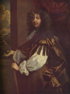 Richard Jones, 1st Earl of Ranelagh (1641-1712), Irish peer, 17th century, (1923) by Peter Lely