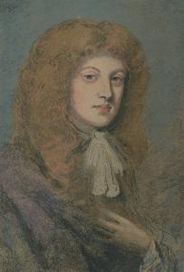 ''Study in Pastel', 17th century by Peter Lely