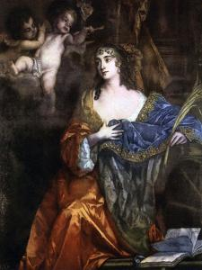 Susan, Lady Belasyse, C1660s by Peter Lely