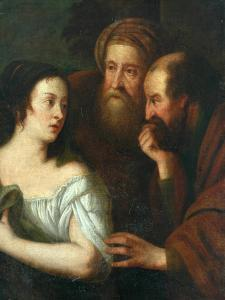 Susannah and the Elders by Peter Lely