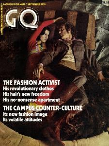 GQ Cover - September 1970 by Peter Levy