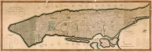 New York and the Island of Manhattan, 1811 by Peter Maverick