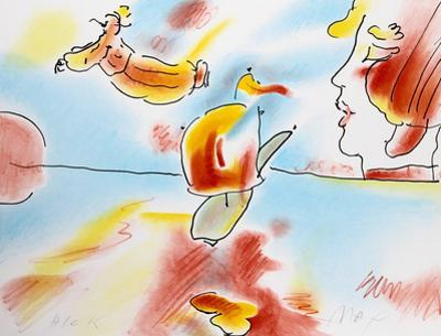 Boat Flyer by Peter Max