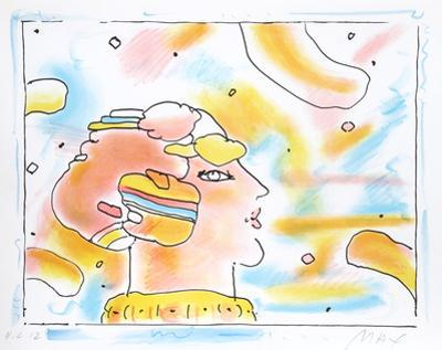 From Another Planet by Peter Max