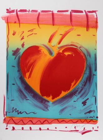 Heart II by Peter Max