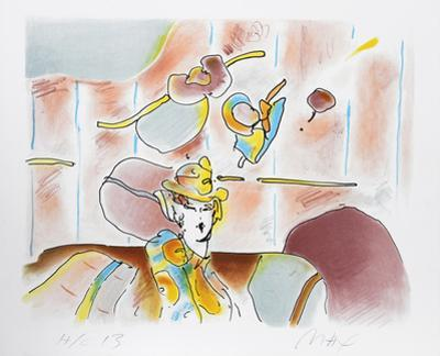 Lady of Fashion II by Peter Max