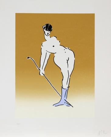 Nude with Crop by Peter Max