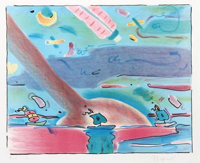 Sailboats by Peter Max