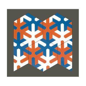 Hexagonal Template, 2007 by Peter McClure