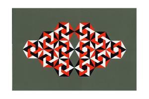 Hexagrams, 2009 by Peter McClure