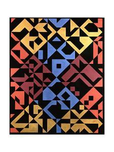 Interposed Diagonals, 1984 by Peter McClure