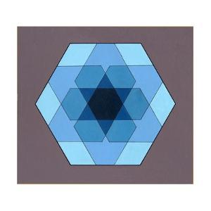 Overlaying Hexagons, 2009 by Peter McClure