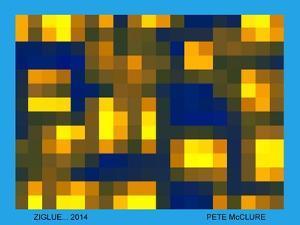 ZIGLUE, 2013 by Peter McClure