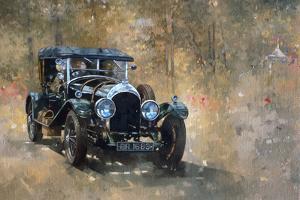 3 Litre Bentley at Cottesbrooke by Peter Miller