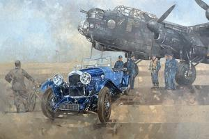 Able Mable and the Blue Lagonda by Peter Miller