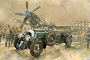 Bentley and Spitfire by Peter Miller