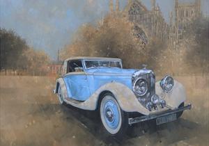 Bentley by Kellner, 1936 by Peter Miller
