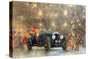 Christmas Bentley by Peter Miller