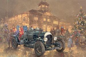 Christmas Party at Brooklands by Peter Miller