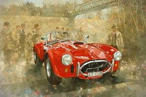 Cobra at Brooklands by Peter Miller