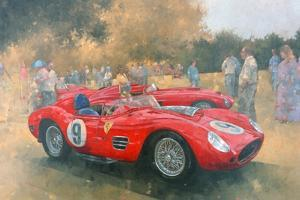 Ferrari, Day Out at Meadow Brook by Peter Miller