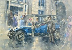 Outside the Ritz by Peter Miller