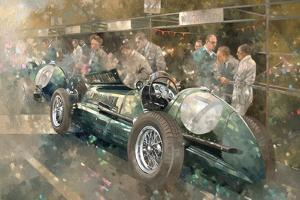 R. Parnell's Maserati by Peter Miller