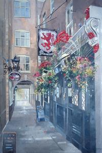 The Red Lion, Crown Passage, St. James's, London by Peter Miller