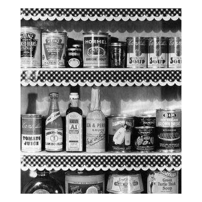 Vogue - January 1934 - 1930s Kitchen Pantry