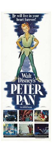 Peter Pan, 1953--Art Print
