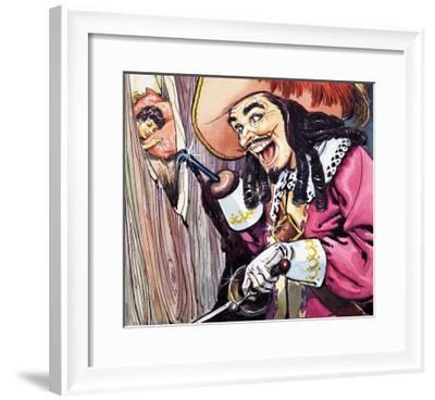 Peter Pan and Wendy-Nadir Quinto-Framed Giclee Print
