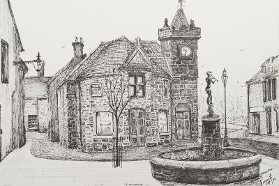 Peter Pan Statue, Kirriemuir, Scotland-Vincent Booth-Giclee Print