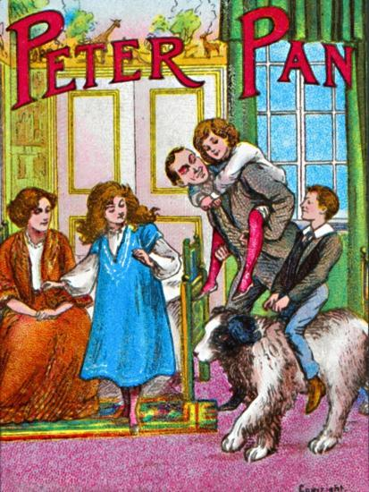 'Peter Pan - The Darlings at home', c1905-Unknown-Giclee Print