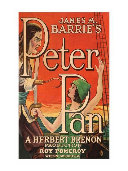 Peter Pan--Art Print